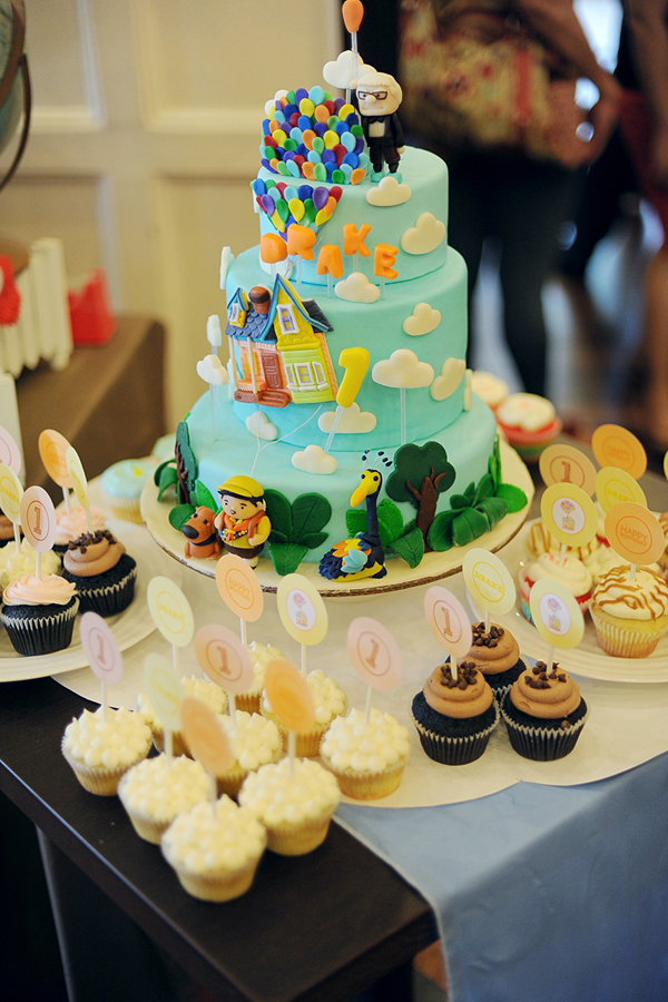 up themed 1st birthday party