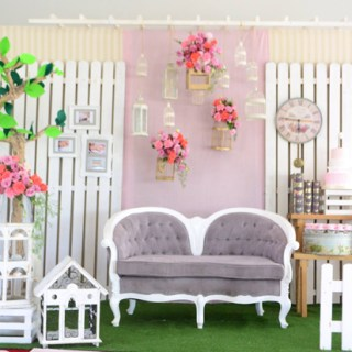 Pretty and Dainty Garden Themed Baptism