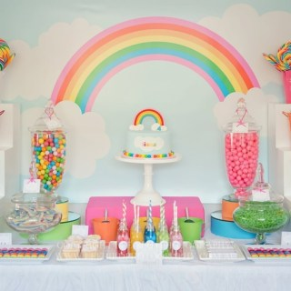 10 Gorgeous Rainbow Dessert Table Ideas