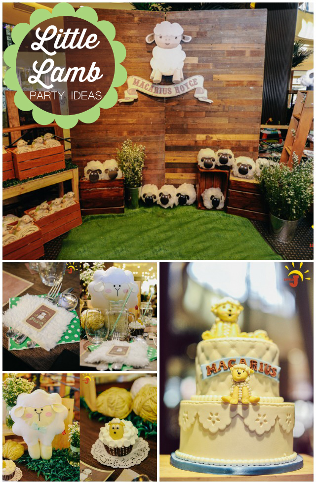 Little Lamb Party Ideas