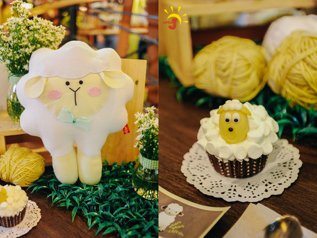 Little Little Sheep Themed Party - 11