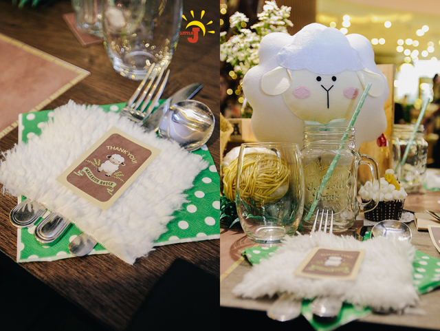 Little Little Sheep Themed Party - 17