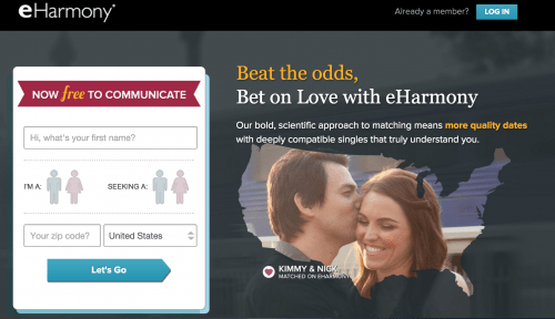 What Is A Call To Action: eHarmony