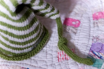 Irish Pixie Baby Hat