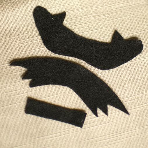 bat bow step 1