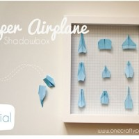 Paper Airplane Crafts for Parties and Decor