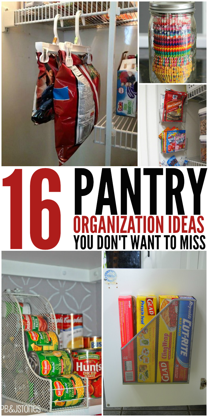 16 pantry organization ideas kitchen organization ideas 16 Pantry Organization Ideas You Don t Want to Miss