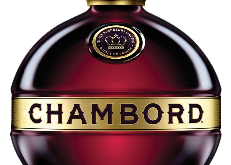 Add dash of Chambord to prosecco for a summery cocktail