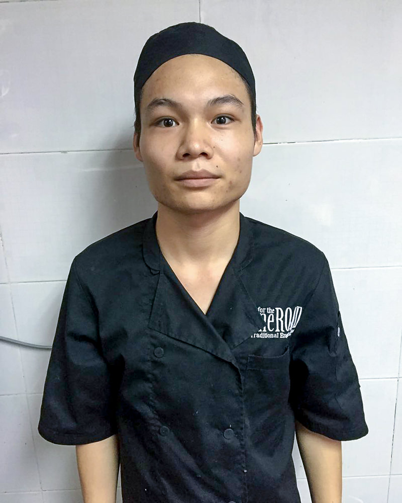 Alex Yang – Kitchen – Employee of the Month July 2016