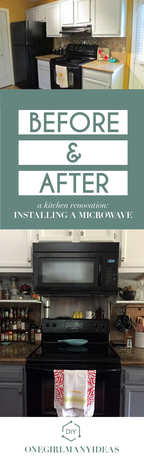 Majestic How To Install An Diy Blog Onegirlmanyideas Microwave Vent Hood Combo Dimensions Microwave Vent Hood Size houzz-03 Microwave Vent Hood