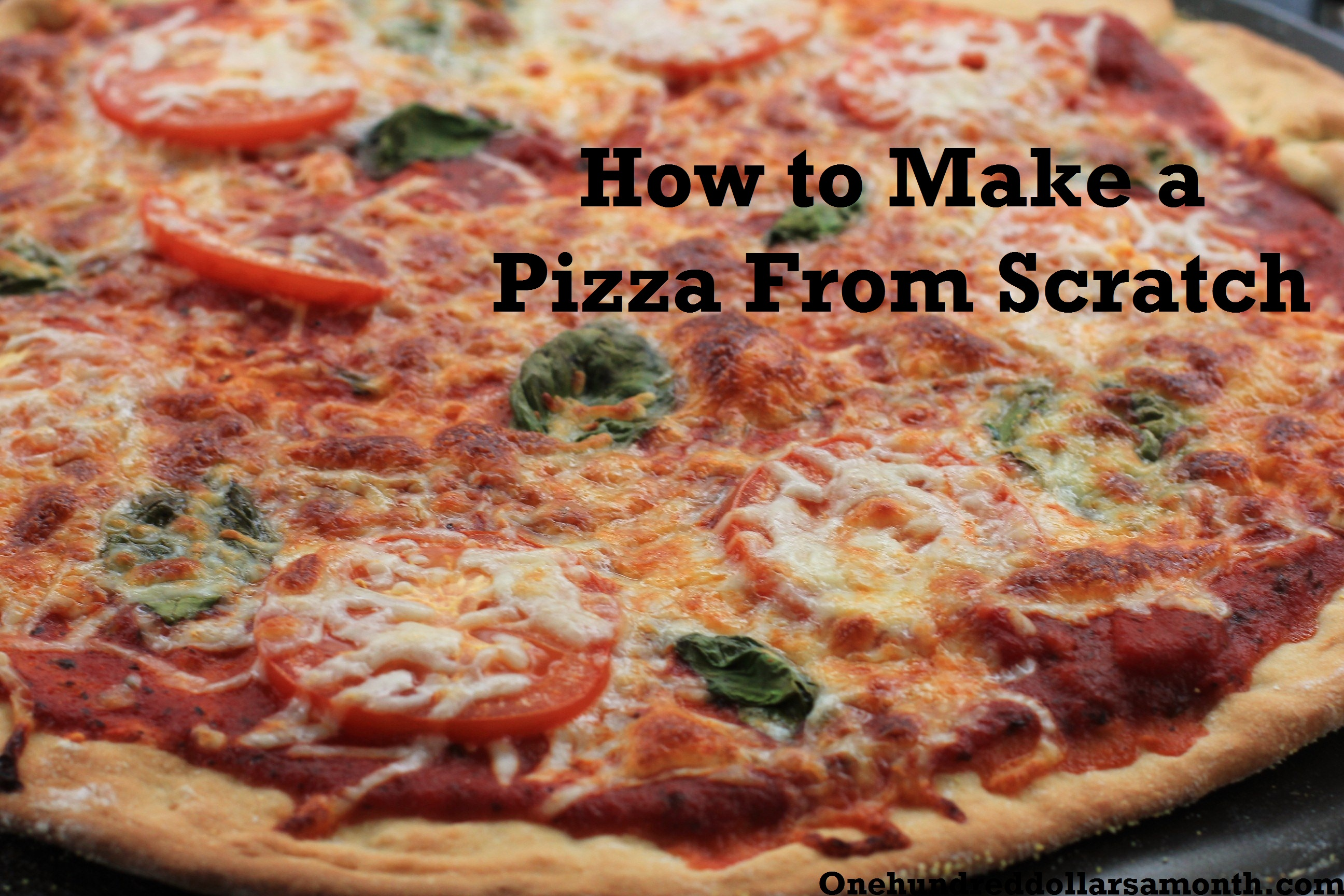 how to make sausage pizza from scratch