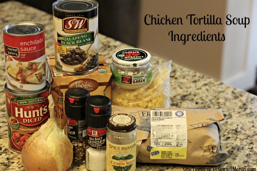 Easy Slow Cooker RecipesChicken Tortilla Soup