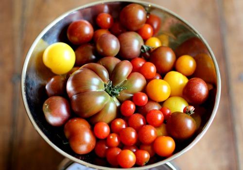 heirloom tomatoes tomato jam