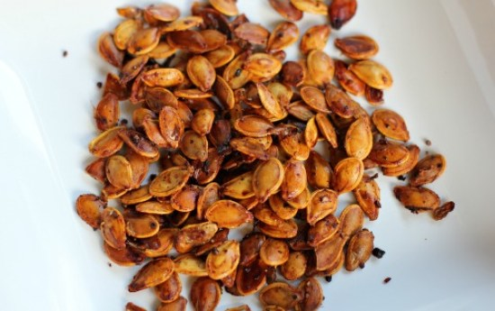 Spiced Pumpkin Seeds recipe