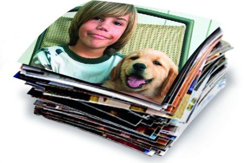 snapfish photos stack