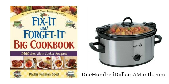 slow cooker crock pot cookbook