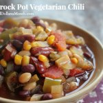 Easy Crock Pot Vegetarian Chili Recipe