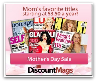 Mother's Day Magazine Sale