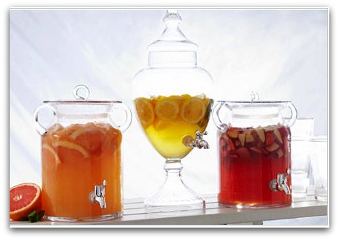 glass beverage containers