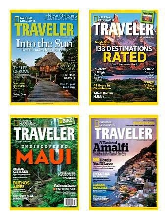 national geographic traveler magazine