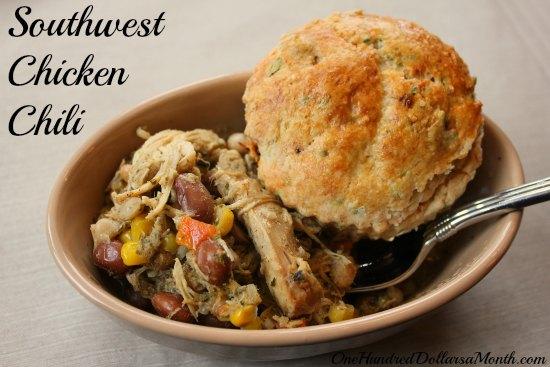 Easy Crock Pot Meals Southwest Chicken Chili