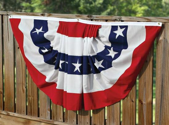american flag bunting usa made