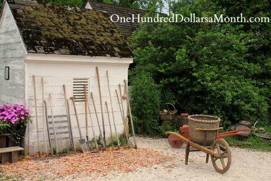 Gardens In Colonial Williamsburg Va