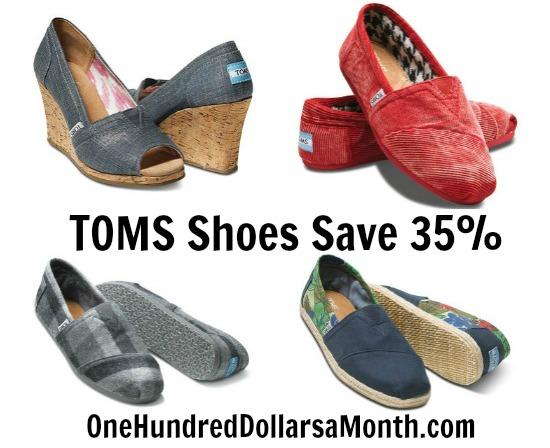 TOMS Shoes discount