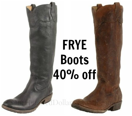 frye boots coupon