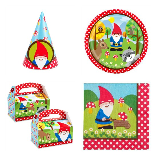 gnome party supplies
