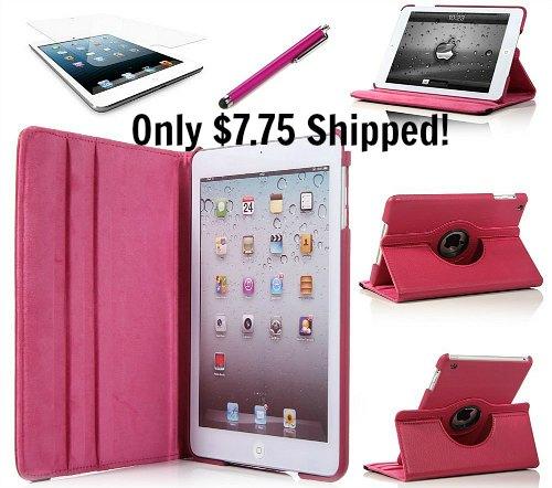 pink iPad mini case
