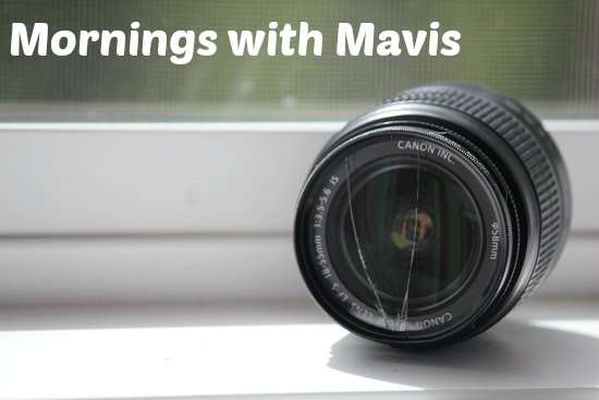 cracked canon lens