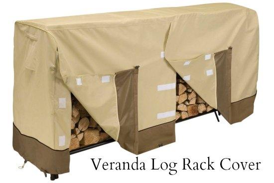 Veranda Log Rack Cover