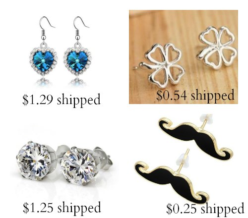 inexpensive earrings