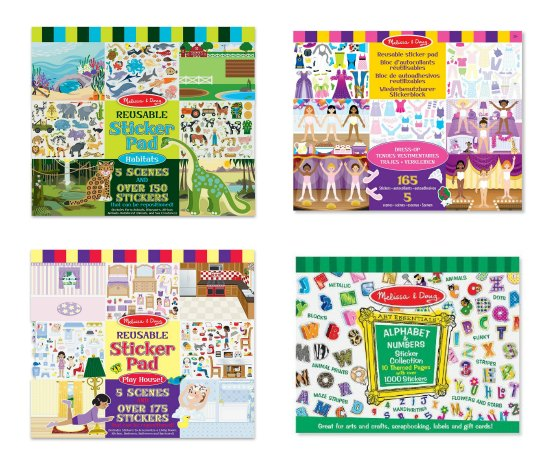 melissa and doug stickers