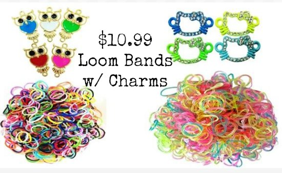 loom bands set charms