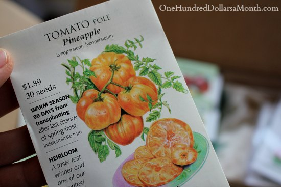 pineapple tomato seeds