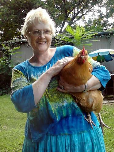 vicky and her chicken