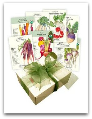 botanical interests garden seeds root