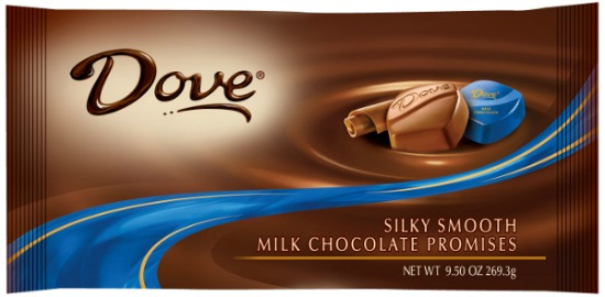 DOVE PROMISES Chocolate coupon