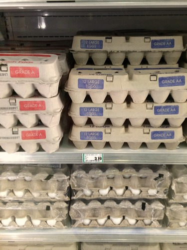 How Much Do eggs Cost in Craig, Alaska