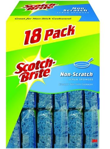 Scotch-Brite 3M Non-Scratch Scrub Sponges