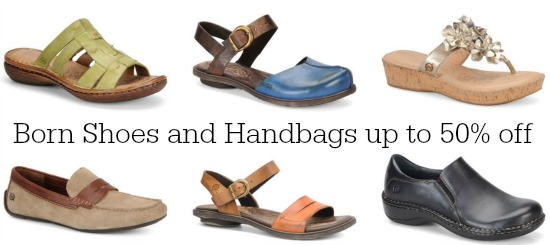 born shoes and handbags