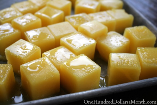 how to freeze orange juice