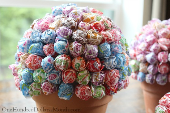 Flower Pot Candy Bouquet
