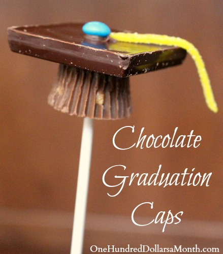 Graduation Dessert Ideas - Graduation Caps