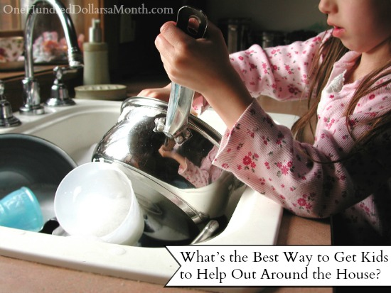 What's the Best Way to Get Kids to Help Out Around the House