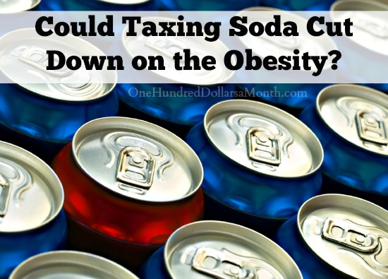 Could Taxing Soda Cut Down on the Obesity