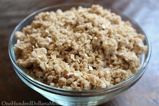 crumb topping recipes