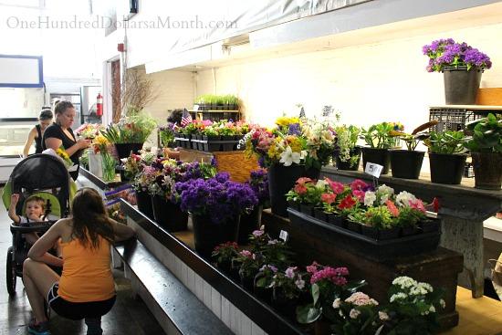 Lancaster Central Market flowers